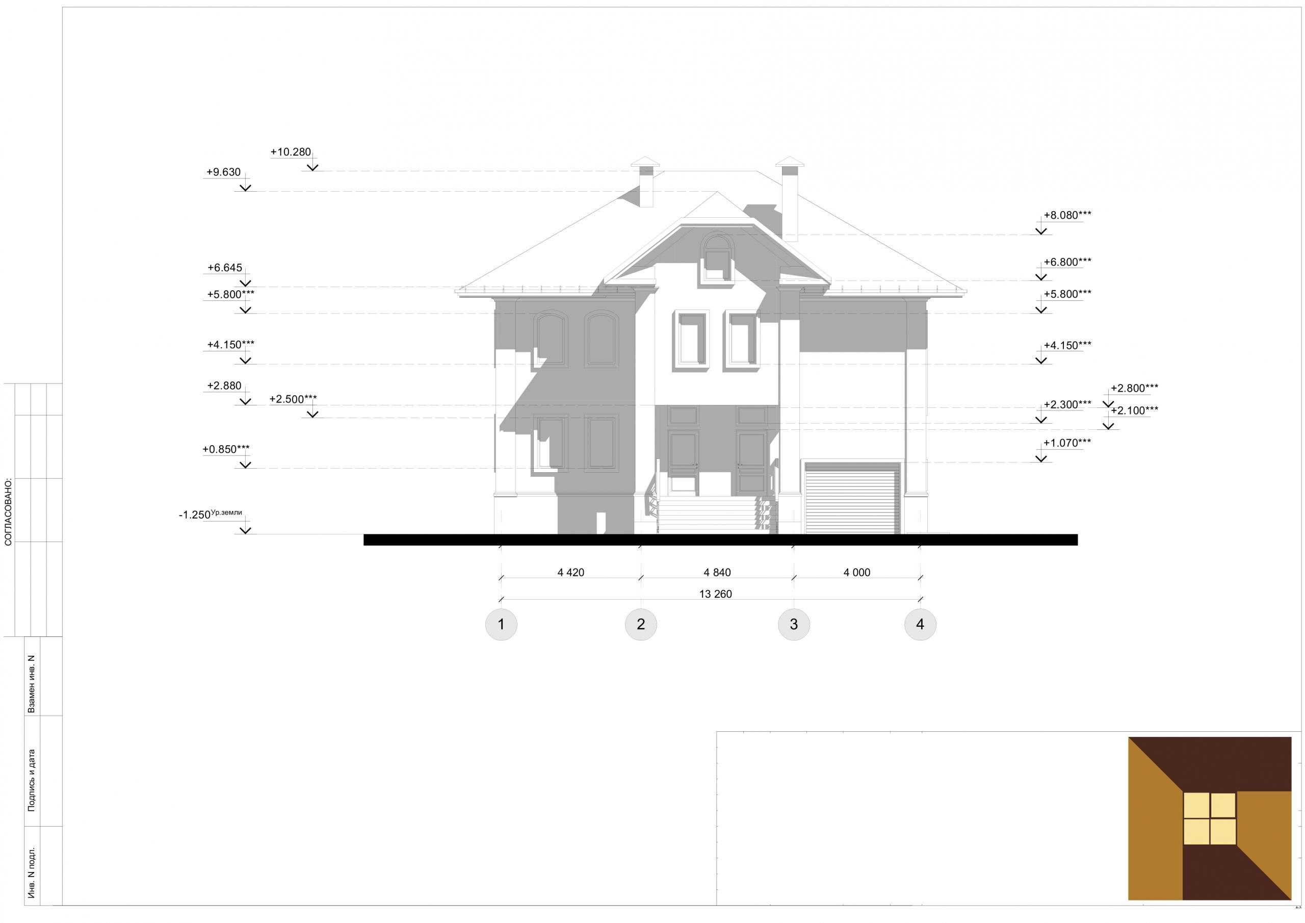 Индивидуальный архитектурный проект коттеджа